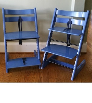 STOKKE Tripp Trap Chairs, 1 chair $55 or 2 for $89